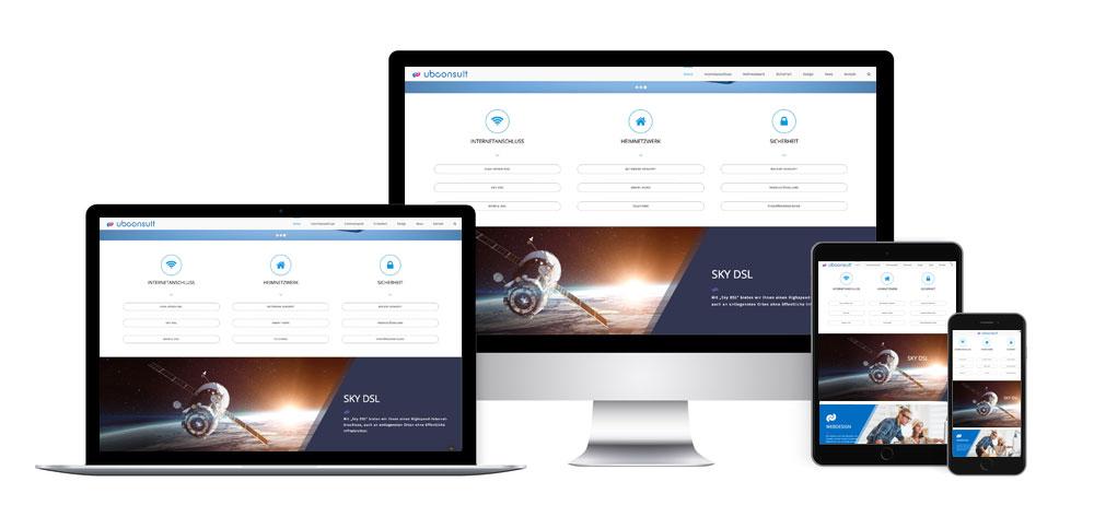 Webdesign - auf allen Geräten kompatibel